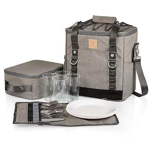 Teton Utility Cooler Set, Heathered Gray