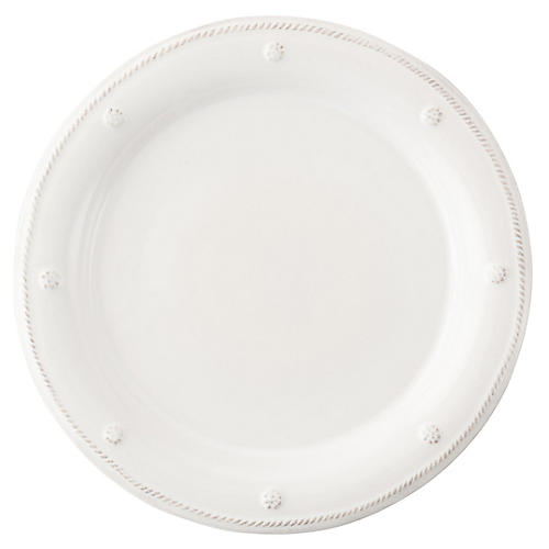 Berry & Thread Dinner Plate, White