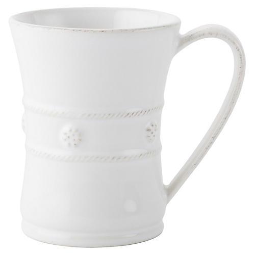 Berry & Thread Mug, White