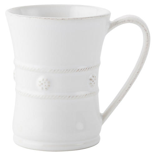 Berry & Thread Mug, White