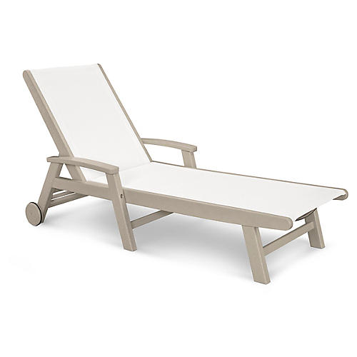Coastal Chaise, Sand
