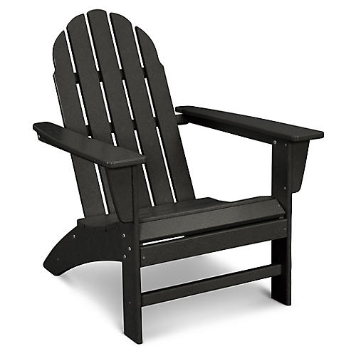 Vineyard Adirondack Chair, Black