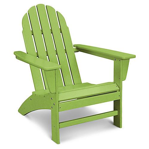 Vineyard Adirondack Chair, Lime