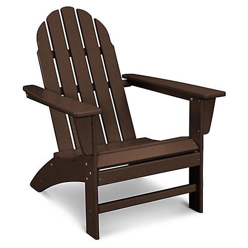 Vineyard Adirondack Chair, Java