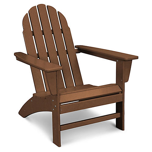 Vineyard Adirondack Chair, Espresso