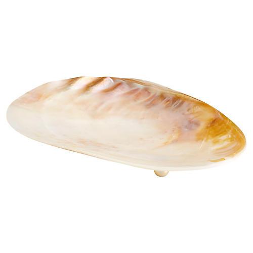 Abalone Decorative Tray, Pearl