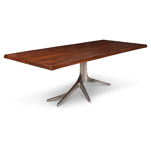 Trunk Dining Table, Mahogany