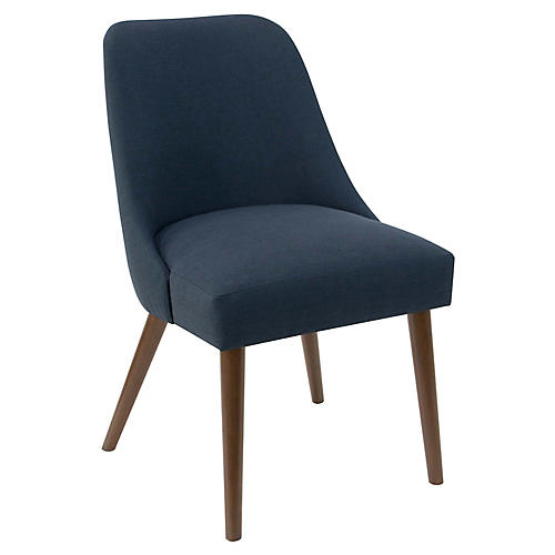 Barron Side Chair, Navy