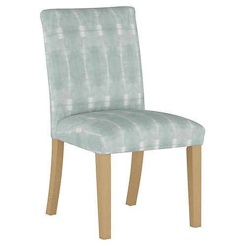 Shannon Side Chair, Mist/White