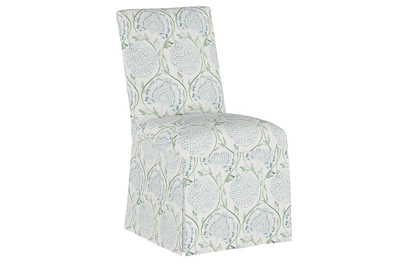 Owen Slipcover Side Chair Floral