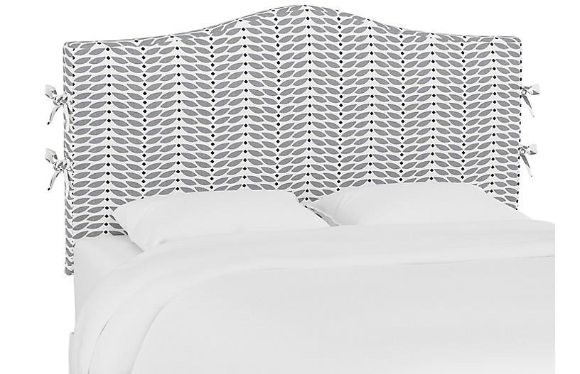 Eloise Slipcover Headboard, Petal Gray