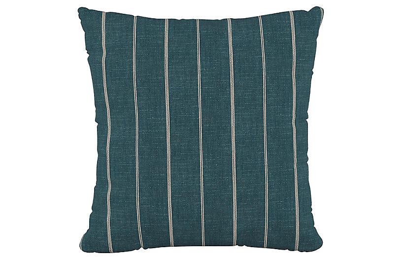 Fritz 20x20 Pillow, Indigo