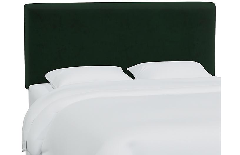 Novak Headboard, Emerald Velvet