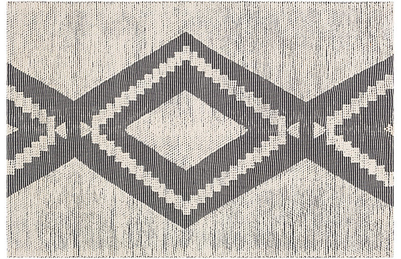 Artemis Outdoor Rug, Charcoal