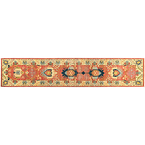 """2'7""""x11'10"""" Eclectic Runner, Coral/Multi"""