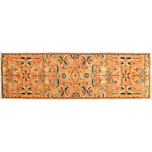 "2'6""x8'2"" Serapi Runner, Fire"