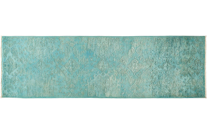 3 X10 2 Quot Vibrance Rug Teal Solo Rugs Brands One