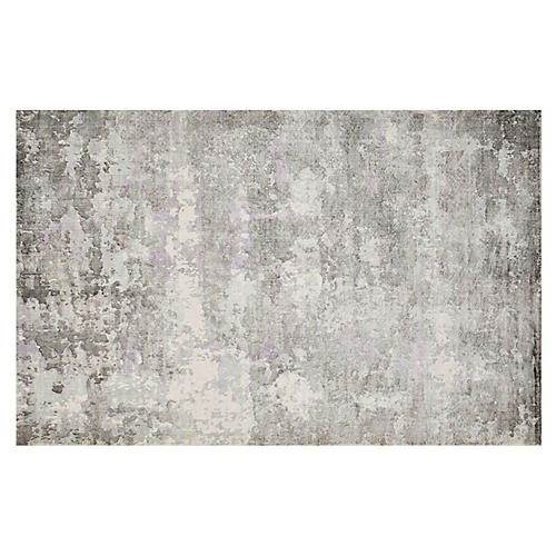 Elbrus Rug, Ivory/Gray