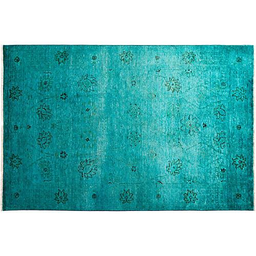"5'1""x7'10"" Sierra Vibrance Rug, Blue"