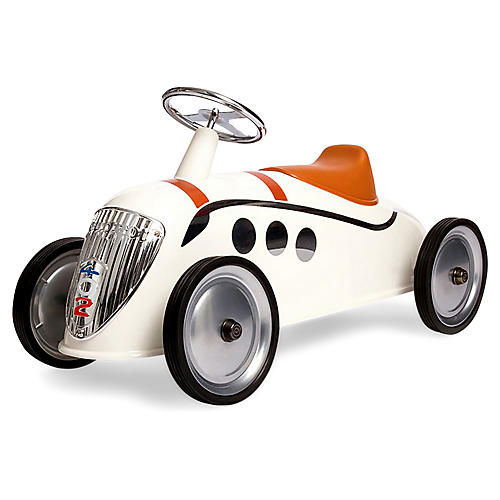 Twister Toy Car, White
