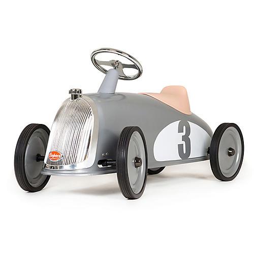 Rider Toy Car, Silver