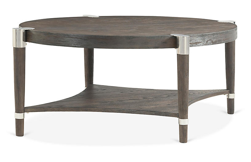 Duvall Oval Coffee Table, Coffee