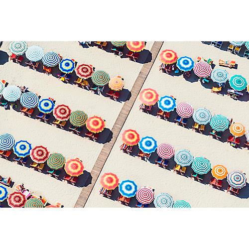 Gray Malin, Multicolor Umbrellas