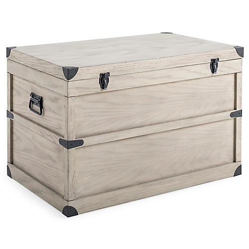 Milbrook Storage Trunk, Natural