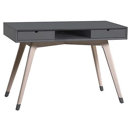 Jensen Desk, Dark Gray
