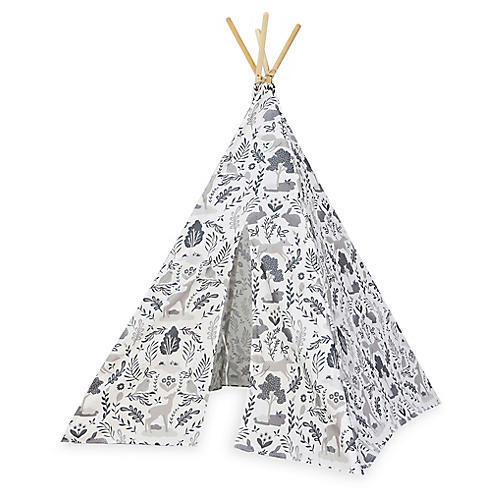 Woodland Teepee, Gray