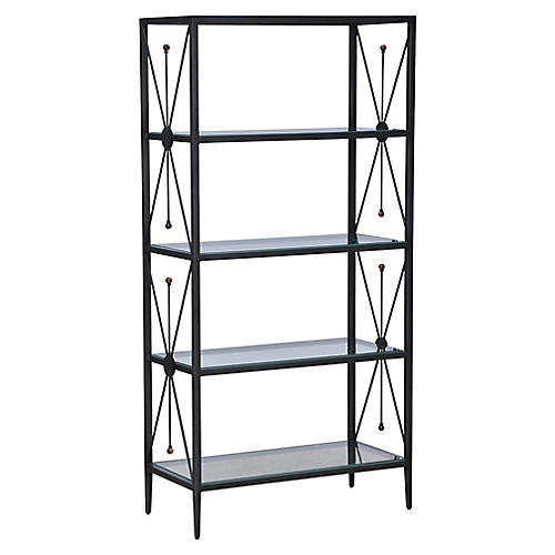 Beatrix Bookcase, Black