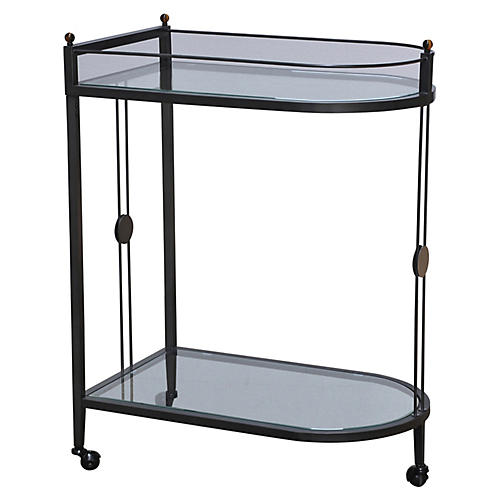 Beatrix Bar Cart, Black