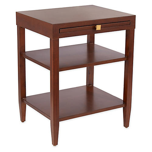 Ambrose Side Table, Walnut