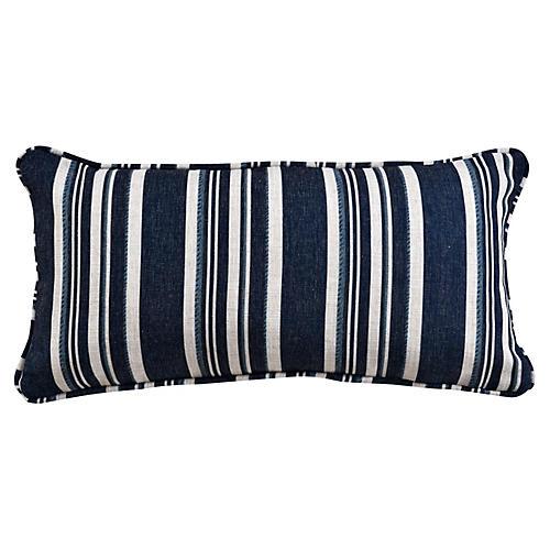 Alana 12x23 Lumbar Pillow, Blue