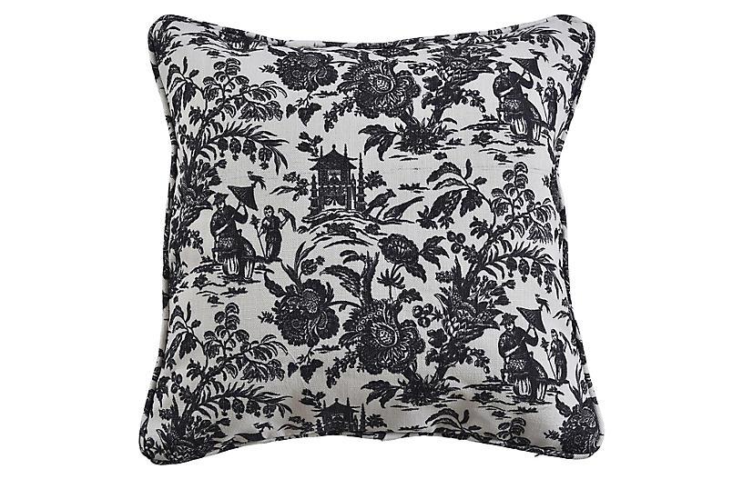 Maura 19x19 Pillow, Gray