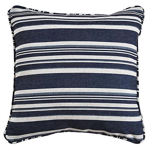 Alana 19x19 Pillow, Blue