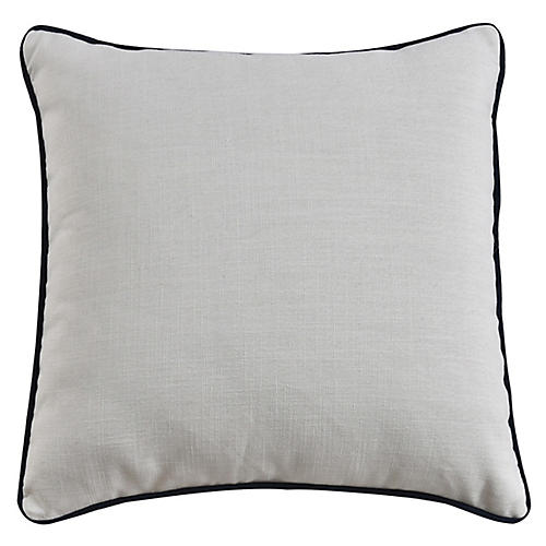 Jocelyn 22x22 Pillow, Ivory