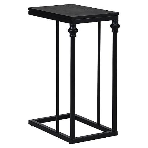 Yates Side Table, Black