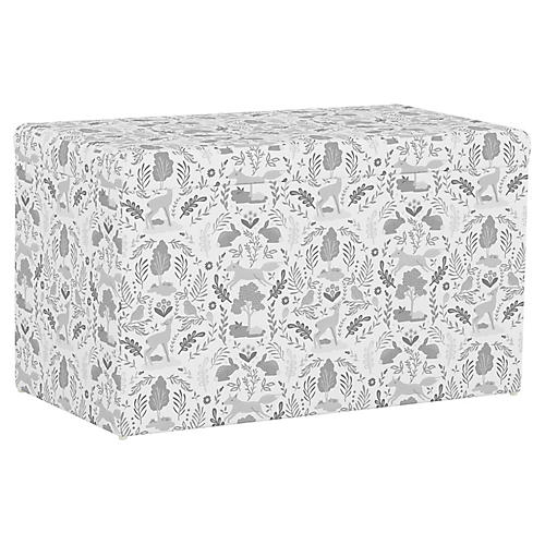 Sebastian Storage Bench, Woodland Gray