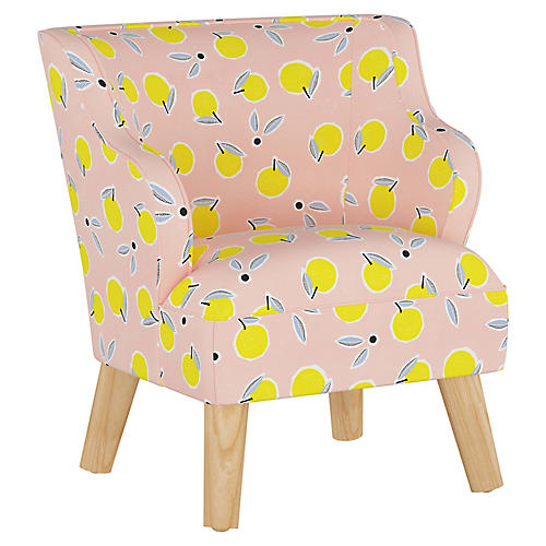 Stella Chair, Lemon Pink