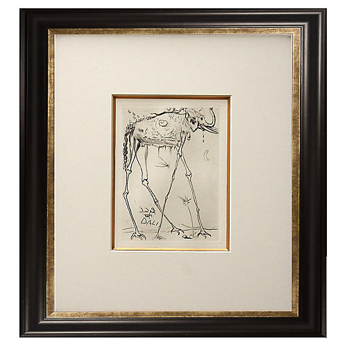 Elephant, Salvador Dalí