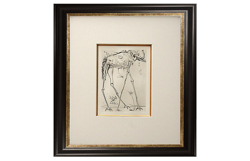 Salvador Dalí, Elephant