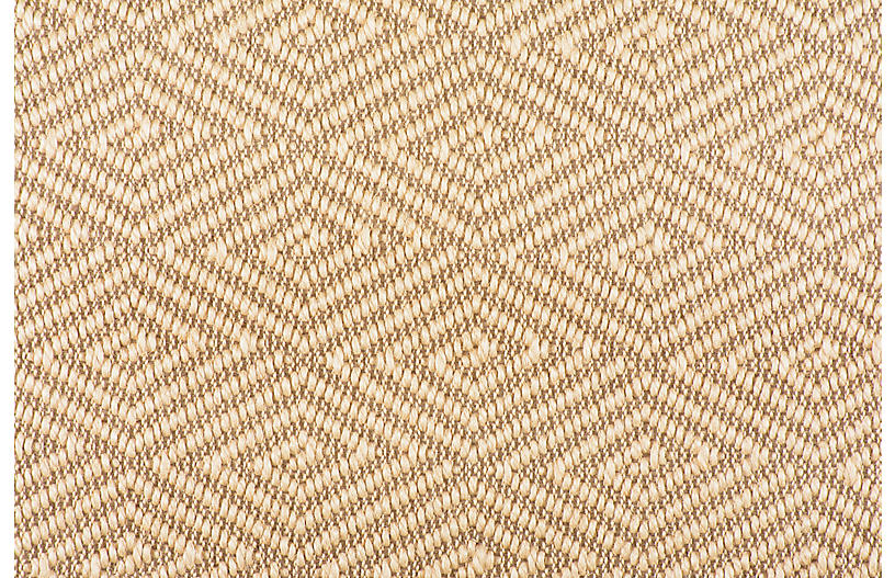 Neptune Sisal Rug, Copper/Tan