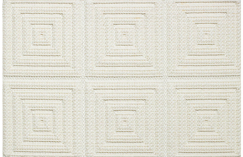 Rainier Rug, White