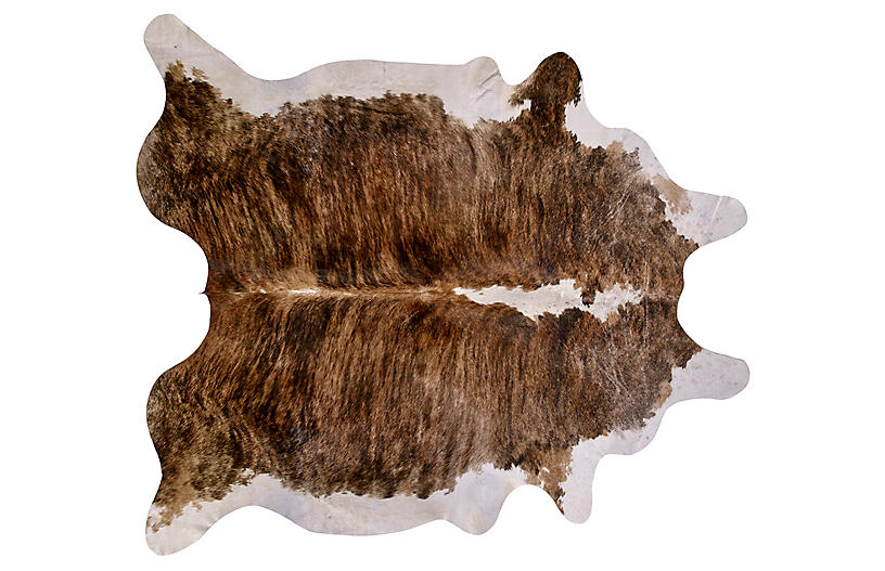 Natural Hide, Brown Tricolor