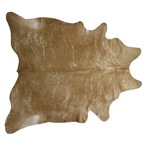 Natural Hide, Beige/Brindle