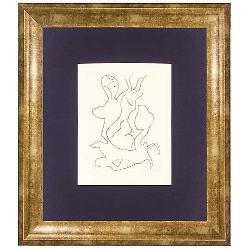 Jean Arp, Paroles Peintes II, 1965