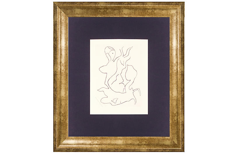 Jean Arp, Paroles Peintes II, 1965