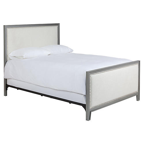 Alexis Bed, Ivory Linen