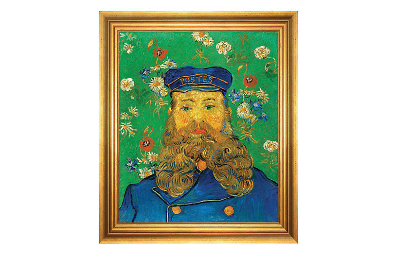 Van Gogh, Portrait of Joseph Roulin